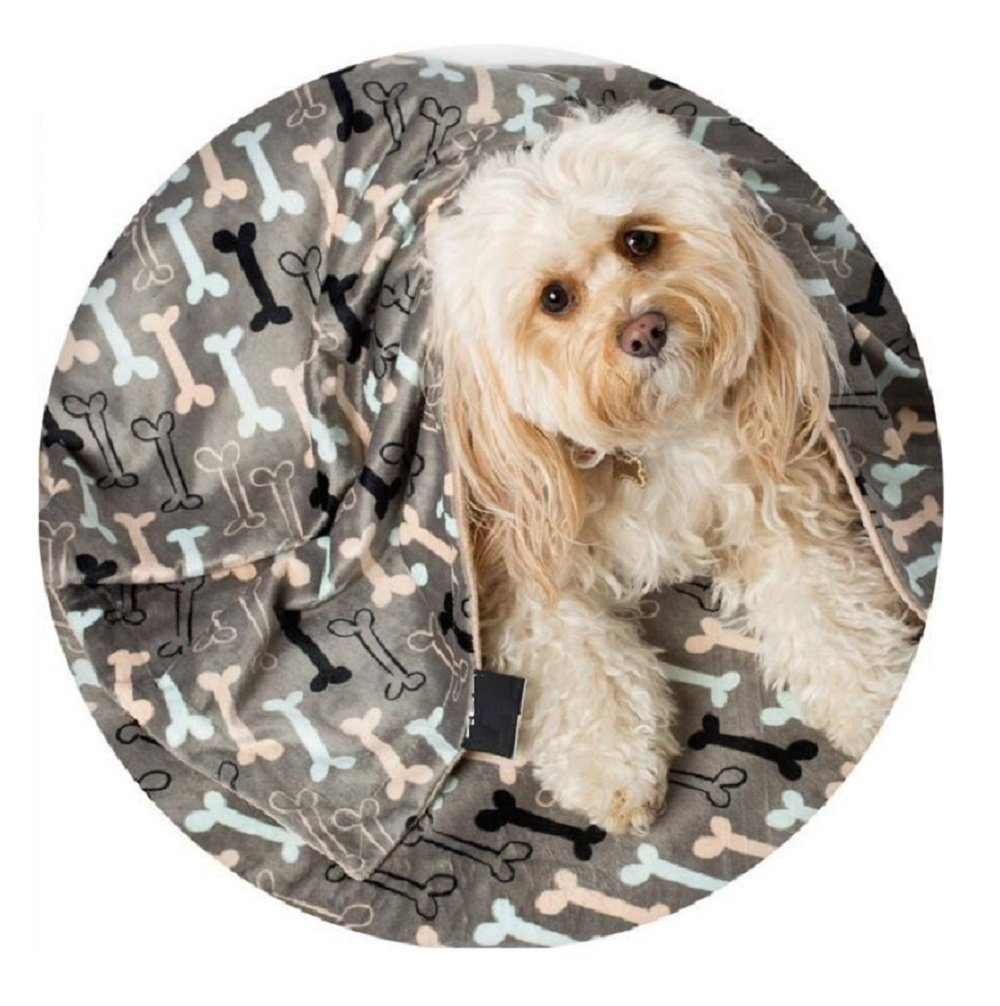 Utex Pet Blanket 24x 32 ,56 x 68 Inches Warm, Soft, Plush, Microfiber Pet Blanket for Couch, Car, Trunk, Cage, Kennel, Dog House, Puppy Kitten Bed