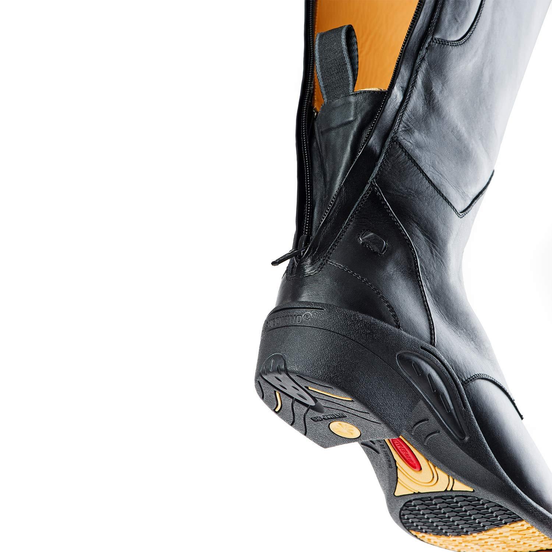 Stiefel  ULTIMA SIR JOHN JUMP     mit Reißverschluss hinten. Bequeme Stiefel aus Echtleder   Robuster Reitstiefel mit OrthoLite-Sohle Innenleder toller Passform  Größen 37-42   Farbe  Schwarz e51f2a