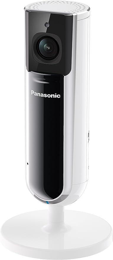 Panasonic KX-HNC800EXW - Cámara de vigilancia doméstica Individual o para el Kit Smart Home (Full HD, ángulo de 142°, visión Nocturna) Color Blanco: Amazon.es: Electrónica