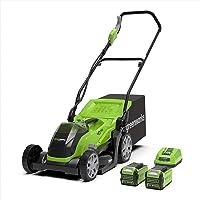 greenworks g40lm35k2x tools cordless lawn mower
