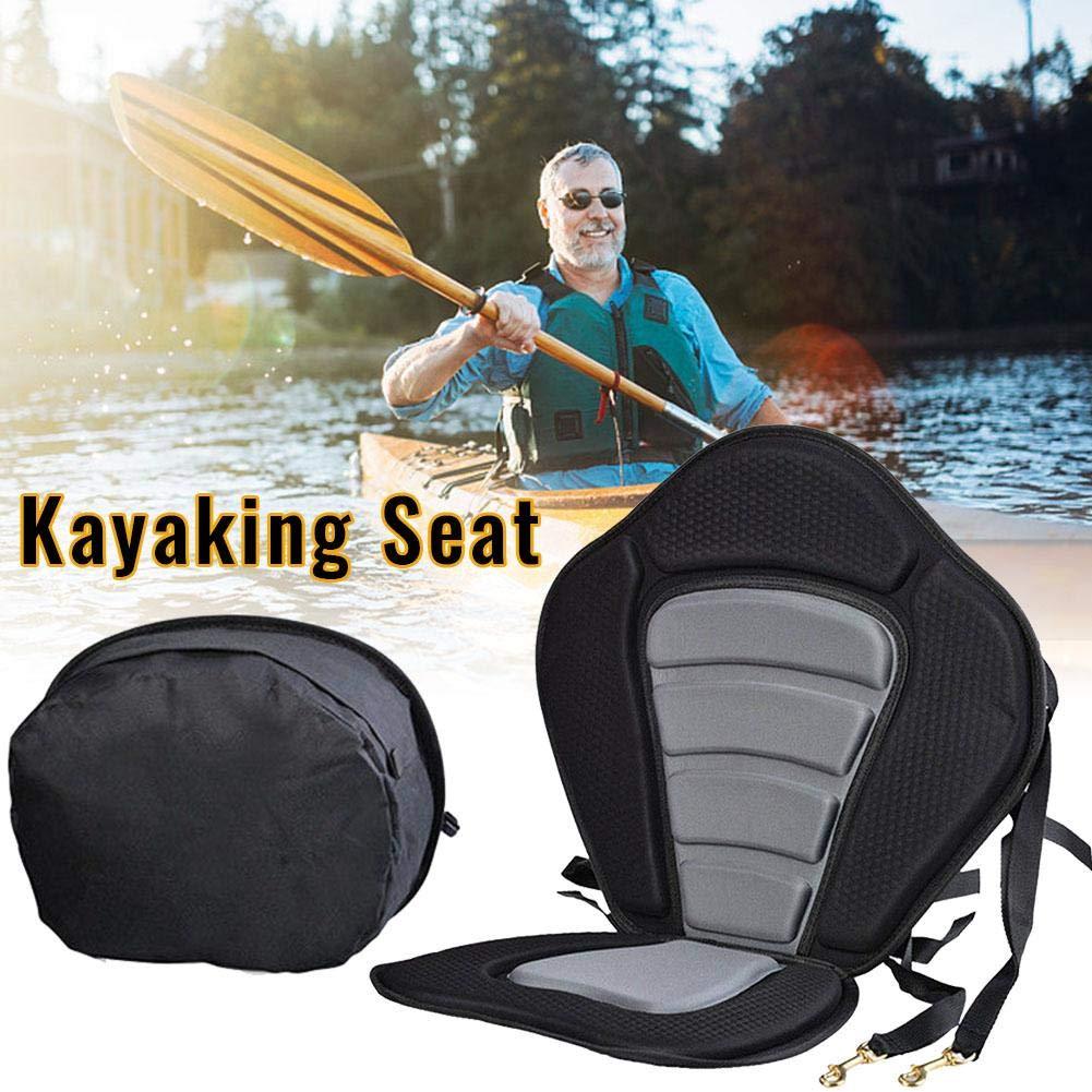 following Asiento de Kayak Acolchado Asiento de Barco Respaldo Confort Ajustable Asiento Trasero Acolchado Soporte de Respaldo Kayak y Canoa Asiento y Respaldo de Barco Beneficial