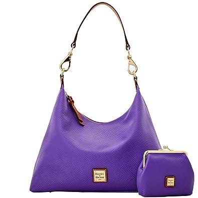 77bba427f4 Amazon.com  Dooney   Bourke Pebble Grain Juliette Hobo Large Frame Purse  Shoulder Bag  Shoes