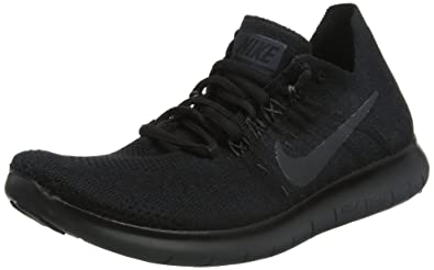 Buy Nike Women S Free Rn Flyknit 2017 Running Shoes Black White Up To 73 Off Free Shipping