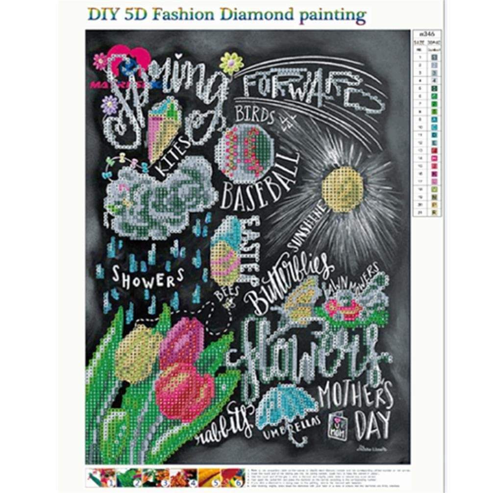 Clearance DIY 5D Diamond Painting Kits for Adult Cuekondy Retro Rhinestone Pasted Embroidery Cross Stitch for Home Wall Decor B
