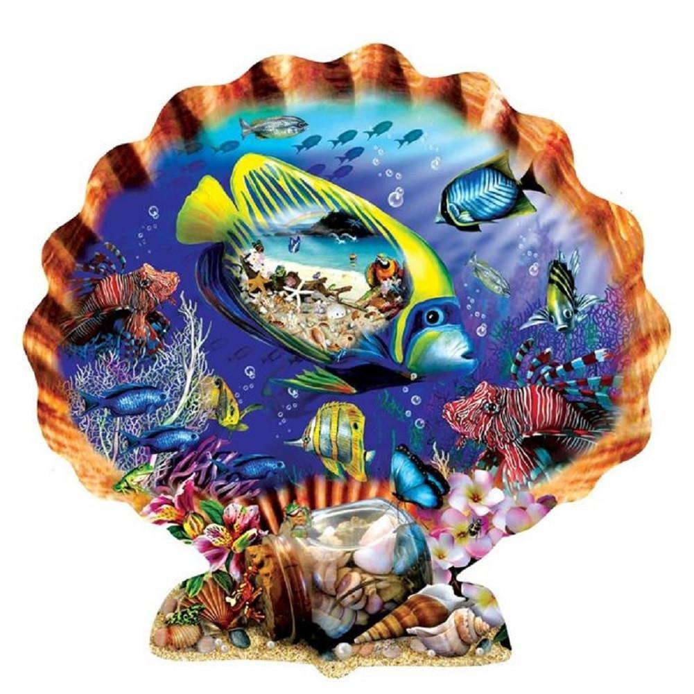 SunsOut 95355 - Schory: Souvenirs aus dem Meer (Formpuzzle) - Puzzle 1000 Teile