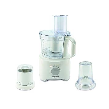 Kenwood FDP302WH Procesador de alimentos con capacidad de 2.1 L, 2 velocidades, paquete de accesorios 800 W, 2.1 litros, 3, weiß: Amazon.es: Hogar