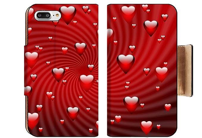 Amazon Com Luxlady Premium Apple Iphone 8 Plus Flip Pu Wallet Case
