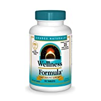 Source Naturals Wellness Formula Bio-Aligned Vitamins - Immune System Support Supplement & Immunity Booster - 90 Tablets