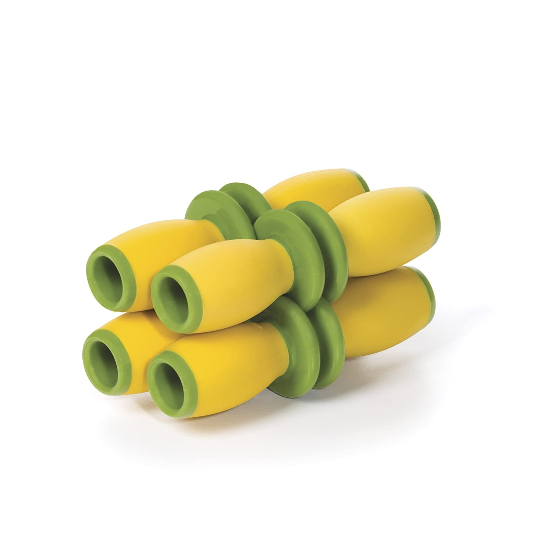 OXO Good Grips Interlocking Corn Holders, Yellow/Green