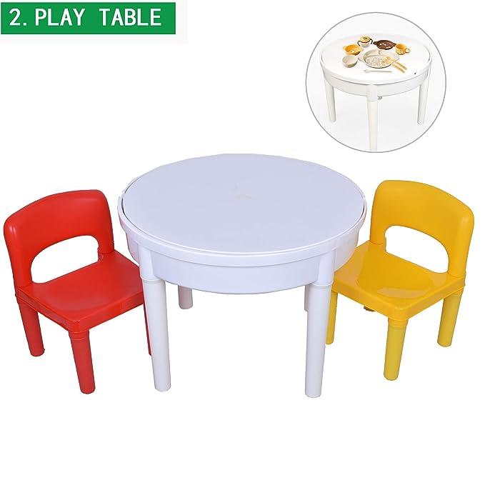 Thema Sedie E Tavoli.Seigneer 4 In 1 Con 2 Sedie Tavolo E Sedia Per Bambini Per Bambini