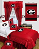 Sports Coverage Georgia Bulldogs UGA Dorm Bedding Comforter Set