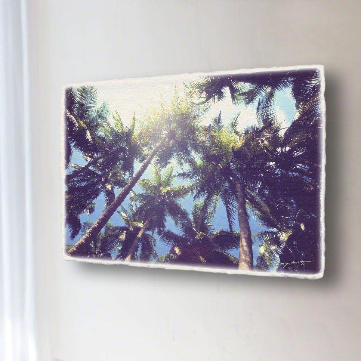 和紙 アートパネル 「青空と太陽とヤシの木」 (54x36cm) 絵 絵画 壁掛け 壁飾り インテリア アート B07DRBYXGC 15.アートパネル(長辺54cm) 29800円|青空と太陽とヤシの木 青空と太陽とヤシの木 15.アートパネル(長辺54cm) 29800円