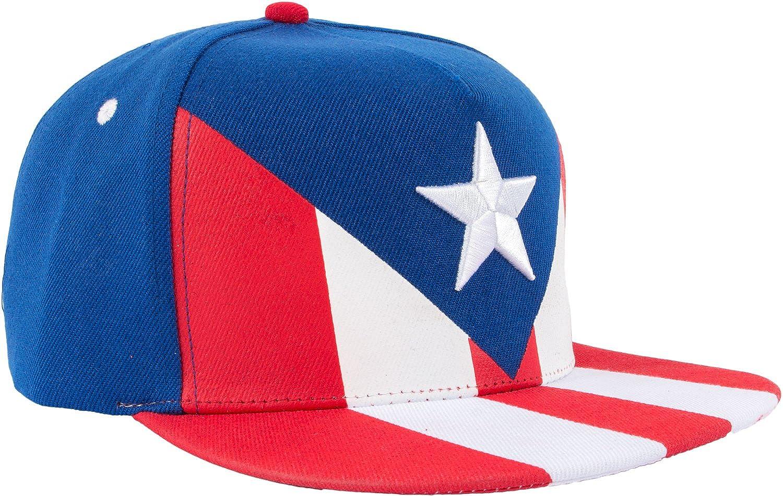 amazon com epic puerto rico flag snapback hat puerto rican