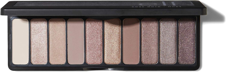 Amazon Com E L F Cosmetics Rose Gold Eyeshadow Palette 10 Shades Nude Rose Gold 0 49 Ounce Nude Rose Gold 0 49 Ounce Health Personal Care