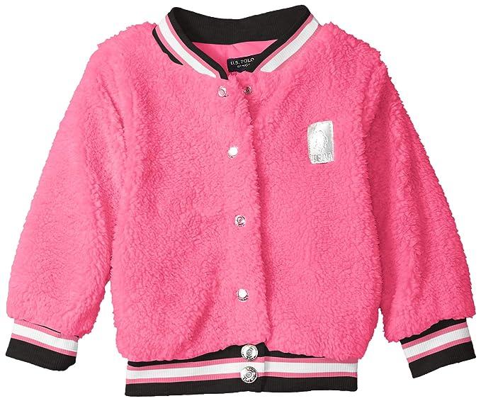Amazon.com: U.S. Polo Assn. Chamarra casual para niña.: Clothing