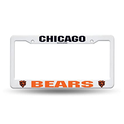 Amazon.com : Rico Industries NFL Plastic License Plate Frame ...