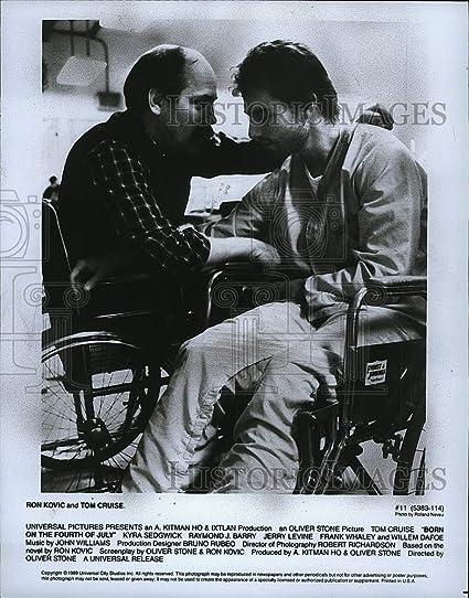 Foto de Prensa de 1989 para activista de la Guerra Ron Kovic ...