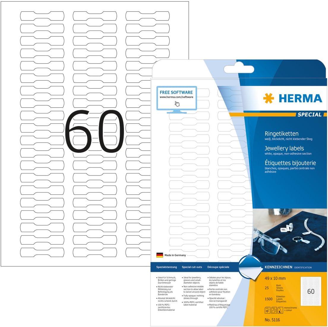 Wei/ß, 25 Bl/ätter nur Laserdrucker Mr-Label Selbstlaminierende Umh/üllung von um Kabeletiketten zur Identifikation von Drahtmarkierern