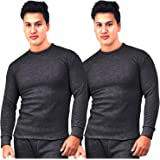 Younky Unisex Winters Woolen Thermal Wear Top (TH-1717, Black, Free Size)