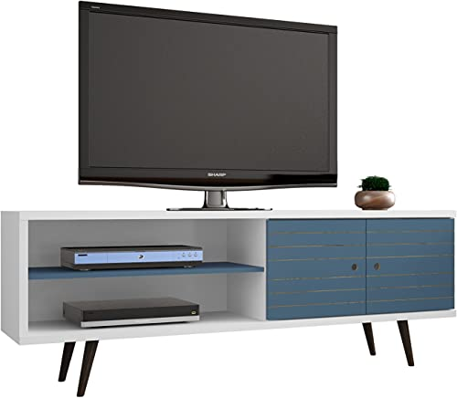 ModHaus Living Mid Century Modern TV Stand Media Cabinet