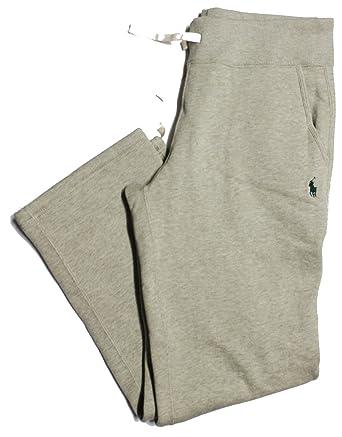 Polo Ralph Lauren Athletic Fleece Sweatpants Jogger Varsity Pony Sweat  Pants Bottoms Grey sp4 (XX