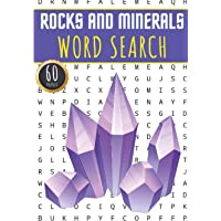 Rocks And Minerals Word Search: 60 Puzzles with Word Scramble | Challenging Puzzle Book For Adults, Kids and Seniors…