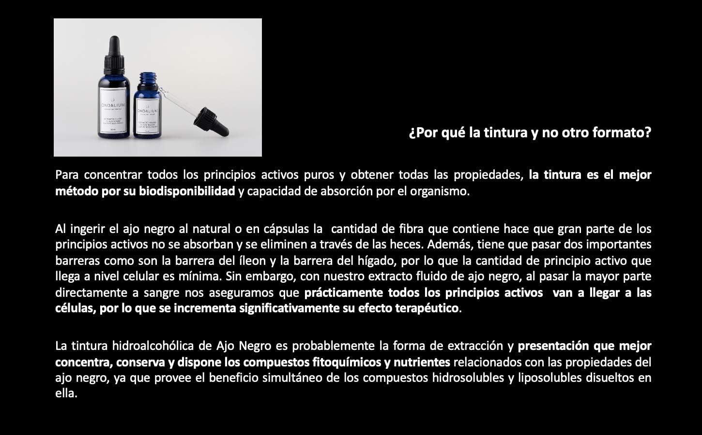 AJO NEGRO Ondalium | Extracto FLUIDO Concentrado de 30 ml (dos mes ...