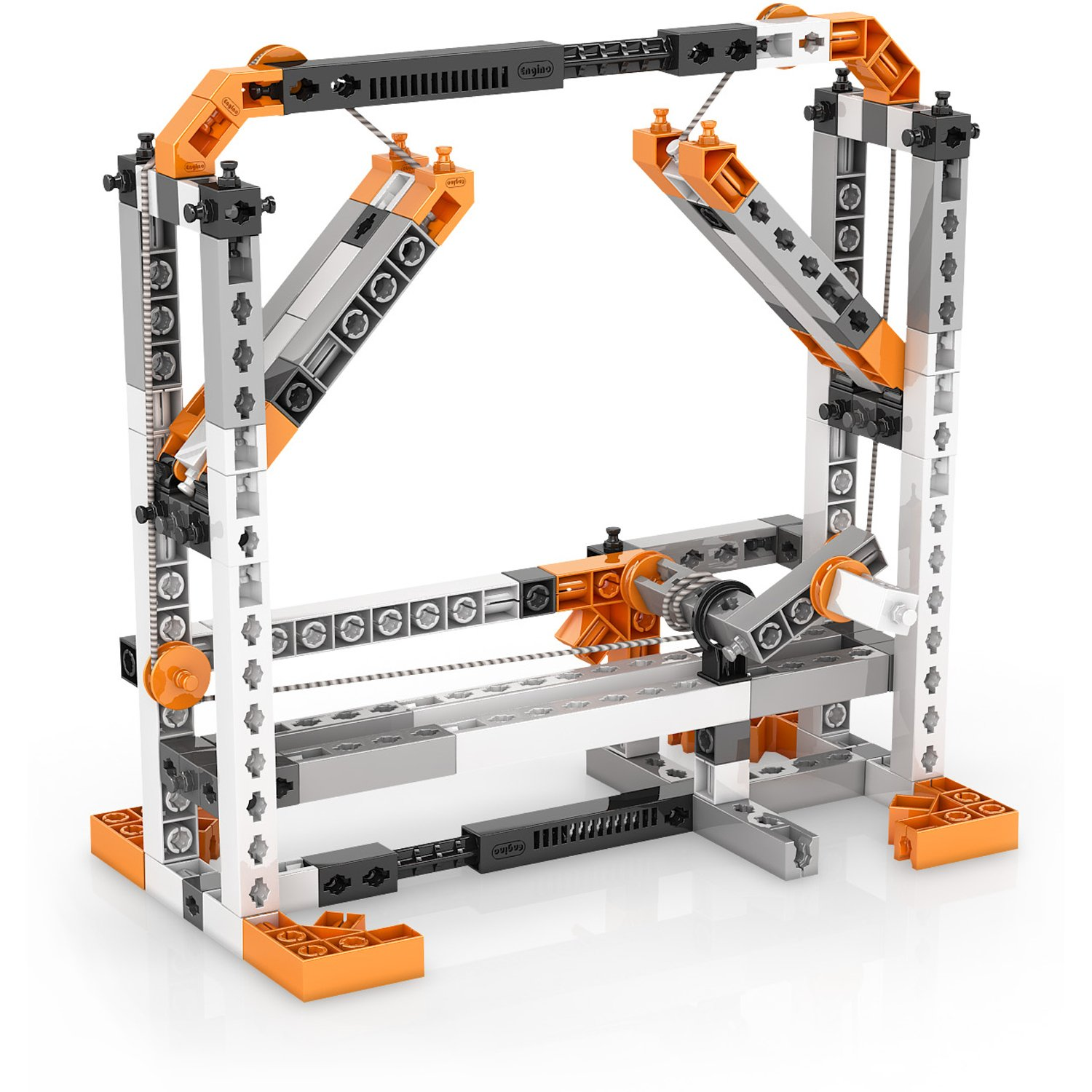 Engino Discovering STEM Simple Machines Mechanisms That Multiply Force Construction Kit by Engino (Image #10)