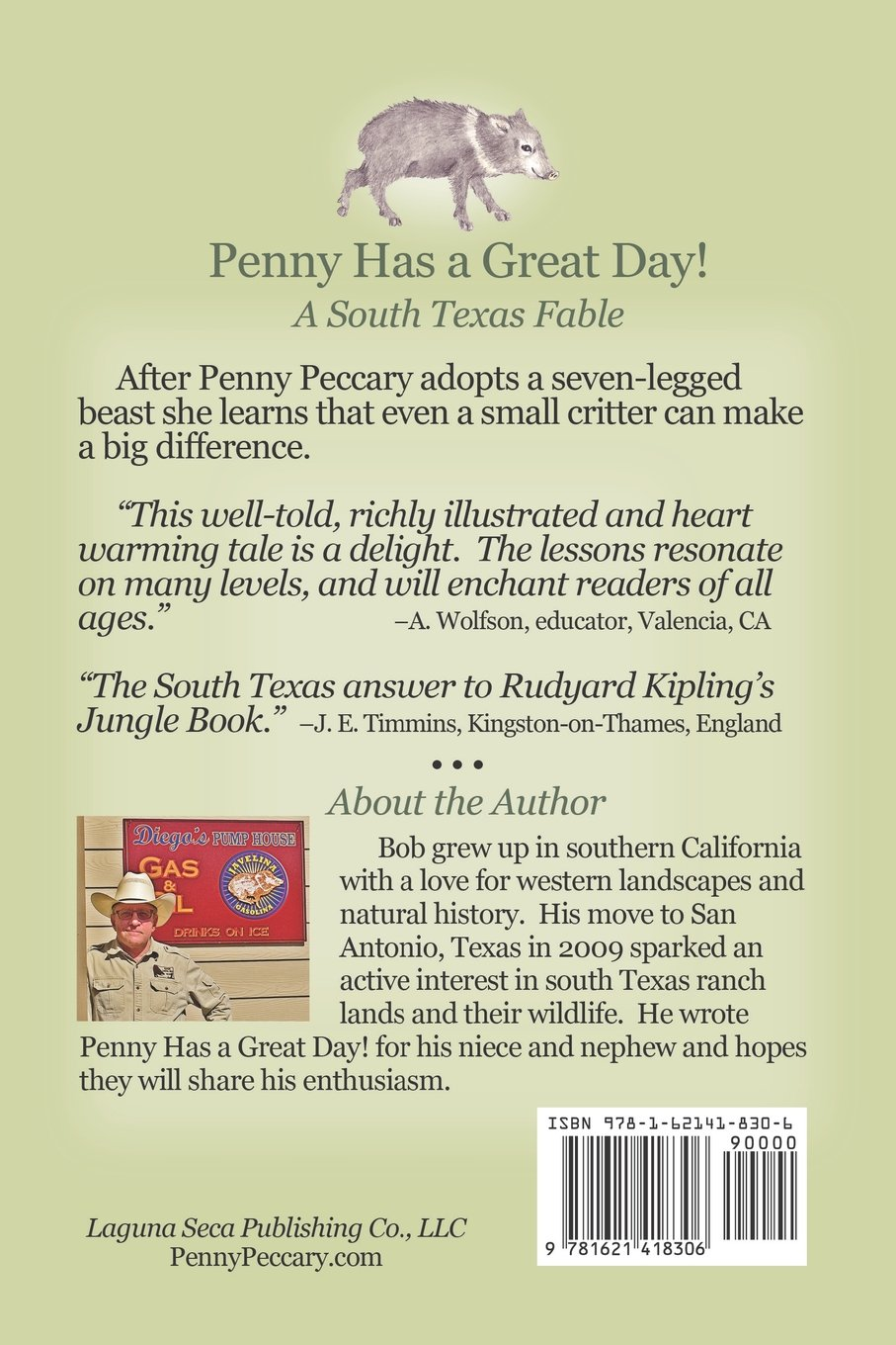 PENNY HAS A GREAT DAY! A South Texas Fable
