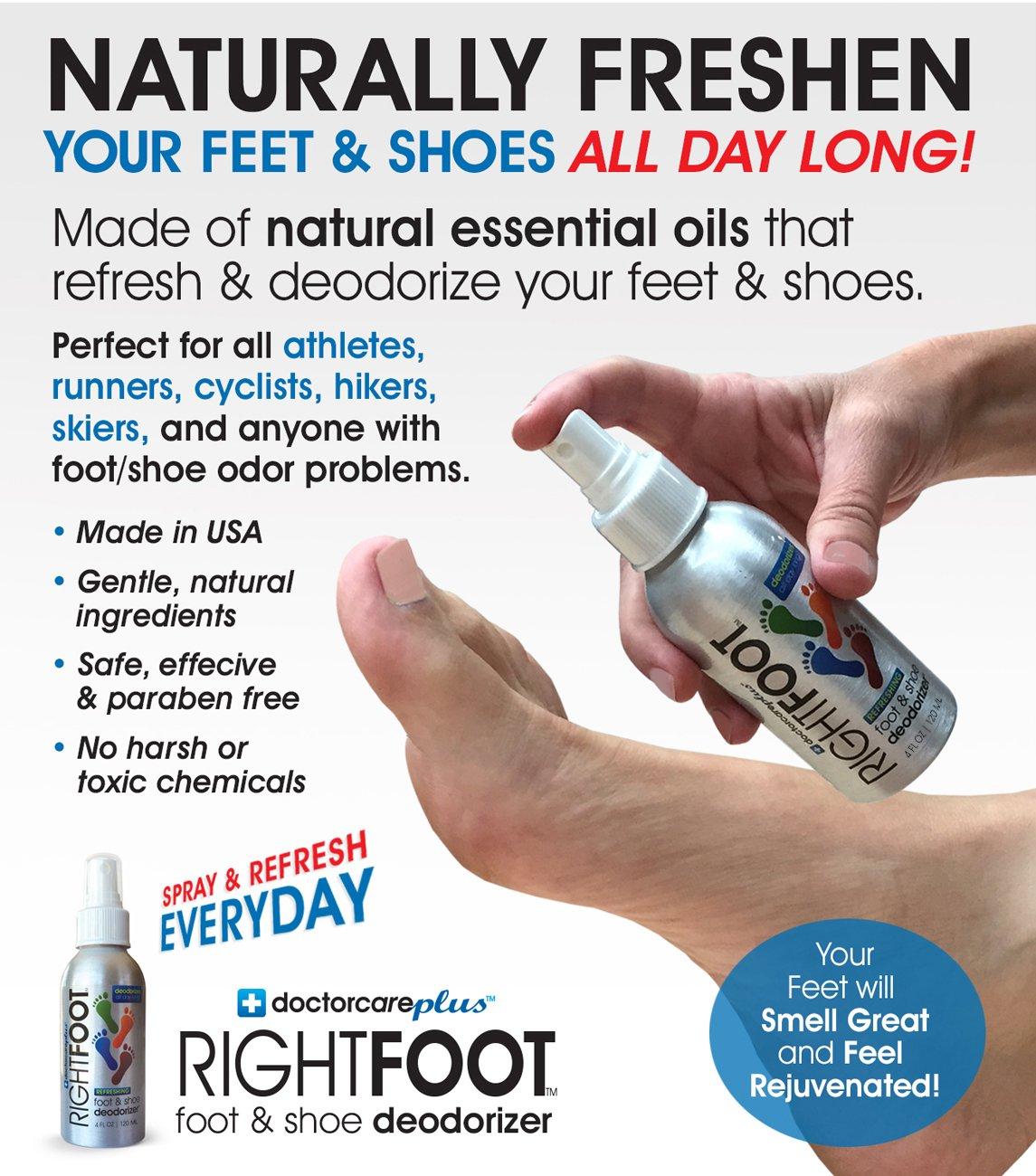 On Your Toes - Polvos para el olor de pies JhrvX0J