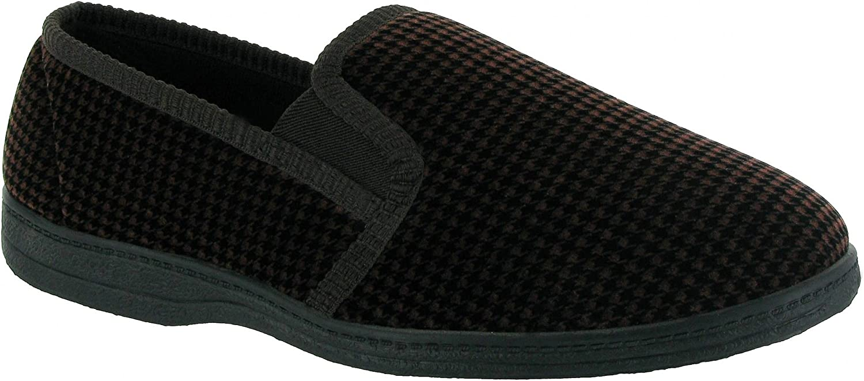 Mirak Highbury Slip-On Slipper//Mens Slippers