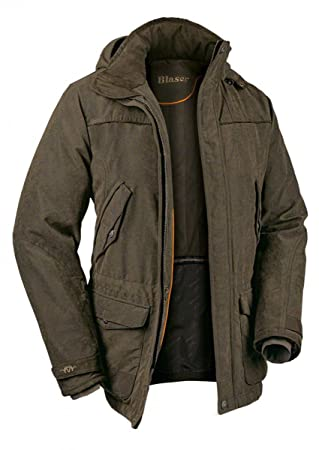 Blaser Argali 2 - Abrigo para Hombre Invierno marrón Melange - Chaqueta de Caza: Amazon.es: Deportes y aire libre