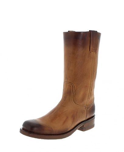 Sendra Boots 3162 Teak Usado Marron Lederstiefel für Damen und Herren Braun Classic Boots, Groesse:41