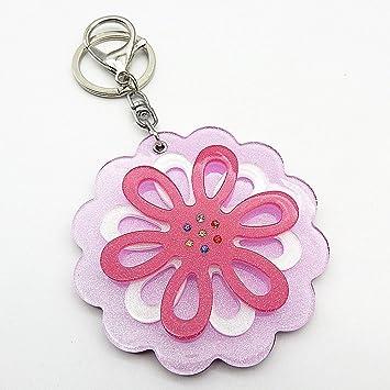 Amazon.com: Acrílico flores de vidrio Slide colgante de ...