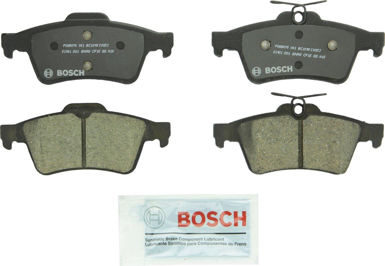 Bosch BC1095 QuietCast Premium Ceramic Rear Disc Brake Pad Set