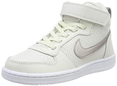 quality design 88647 79089 Nike Court Borough Mid (PSV), Chaussures de Basketball Fille, Multicolore  (Phantom