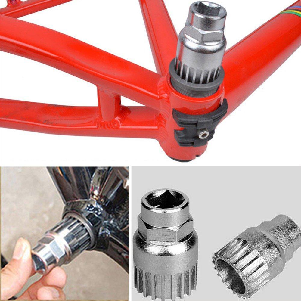 Fahrrad Kurbel Abzieher Entferner Extraktor Pedal Werkzeug Road Mountain X1