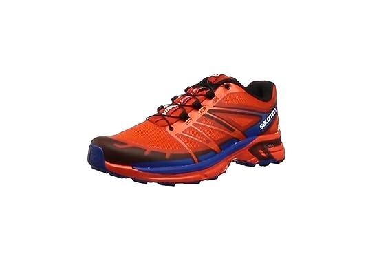 Salomon L39061700, Zapatillas de Trail Running para Hombre, Naranja (Lava Orange/Tomato