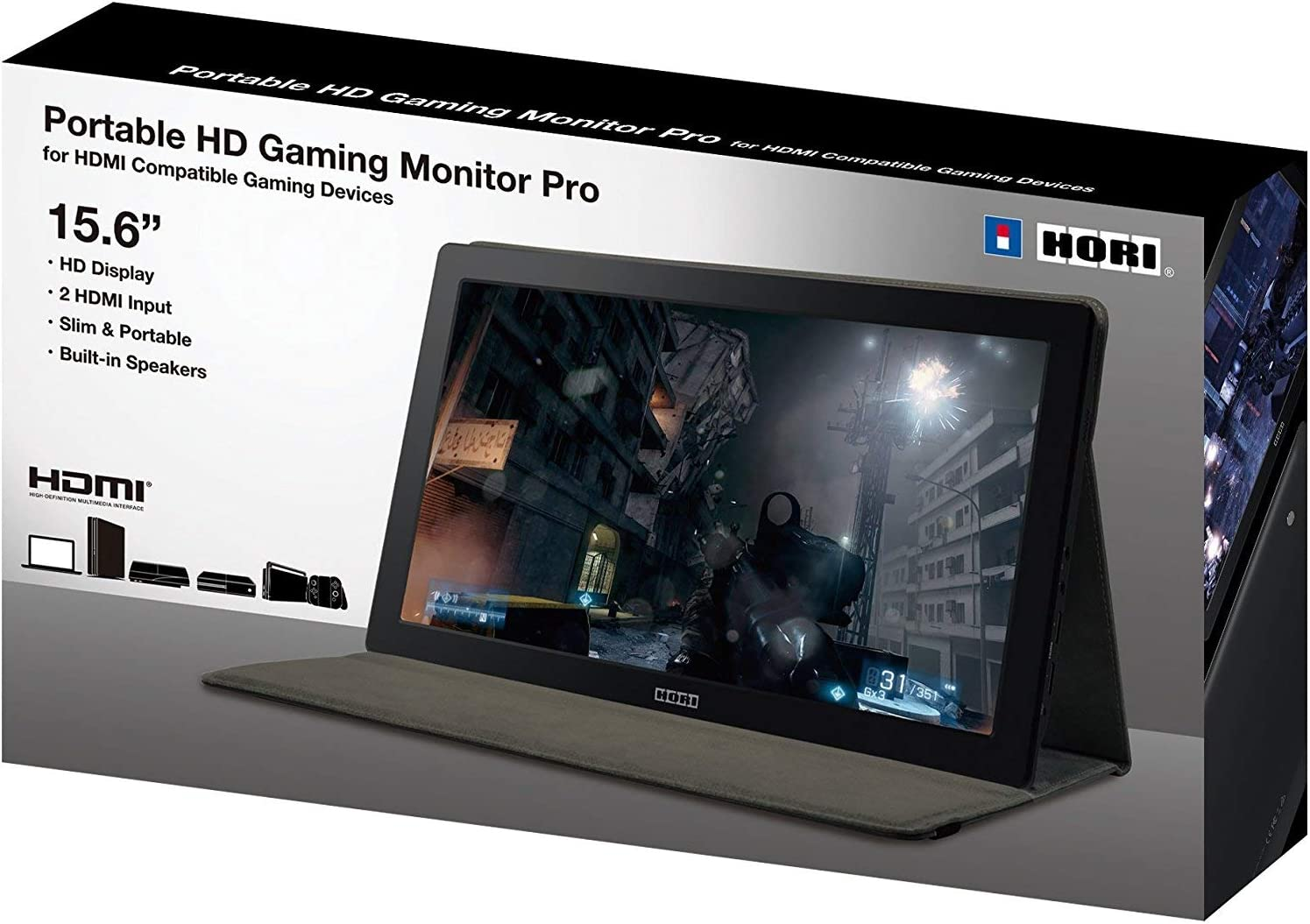 Amazon com: HORI Universal HD Gaming Monitor - PlayStation 4