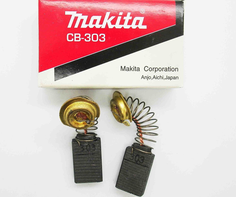 Carbon Brushes Makita Angle Grinder 9541 9542 CB302 191959-3 CB-302 (1 PAIR)MK2 Ecoliteled