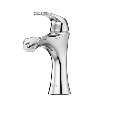 "Pfister LF042JDCC Jaida Single Control 4"" Centerset Bathroom Faucet in Polished Chrome"