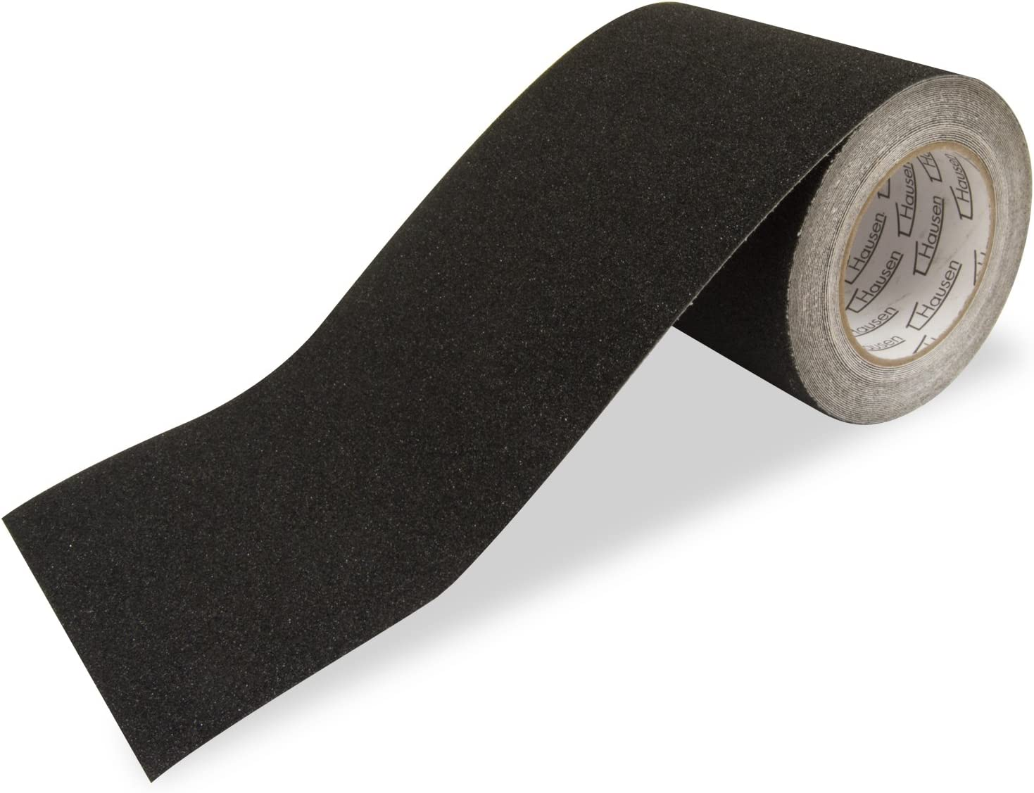 Hausen High Grip Sticky Backed Adhesive Anti Slip Tape Black Safety Flooring