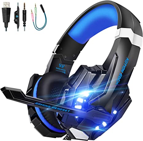 3.5mm Gaming Headset Over ear Headphone