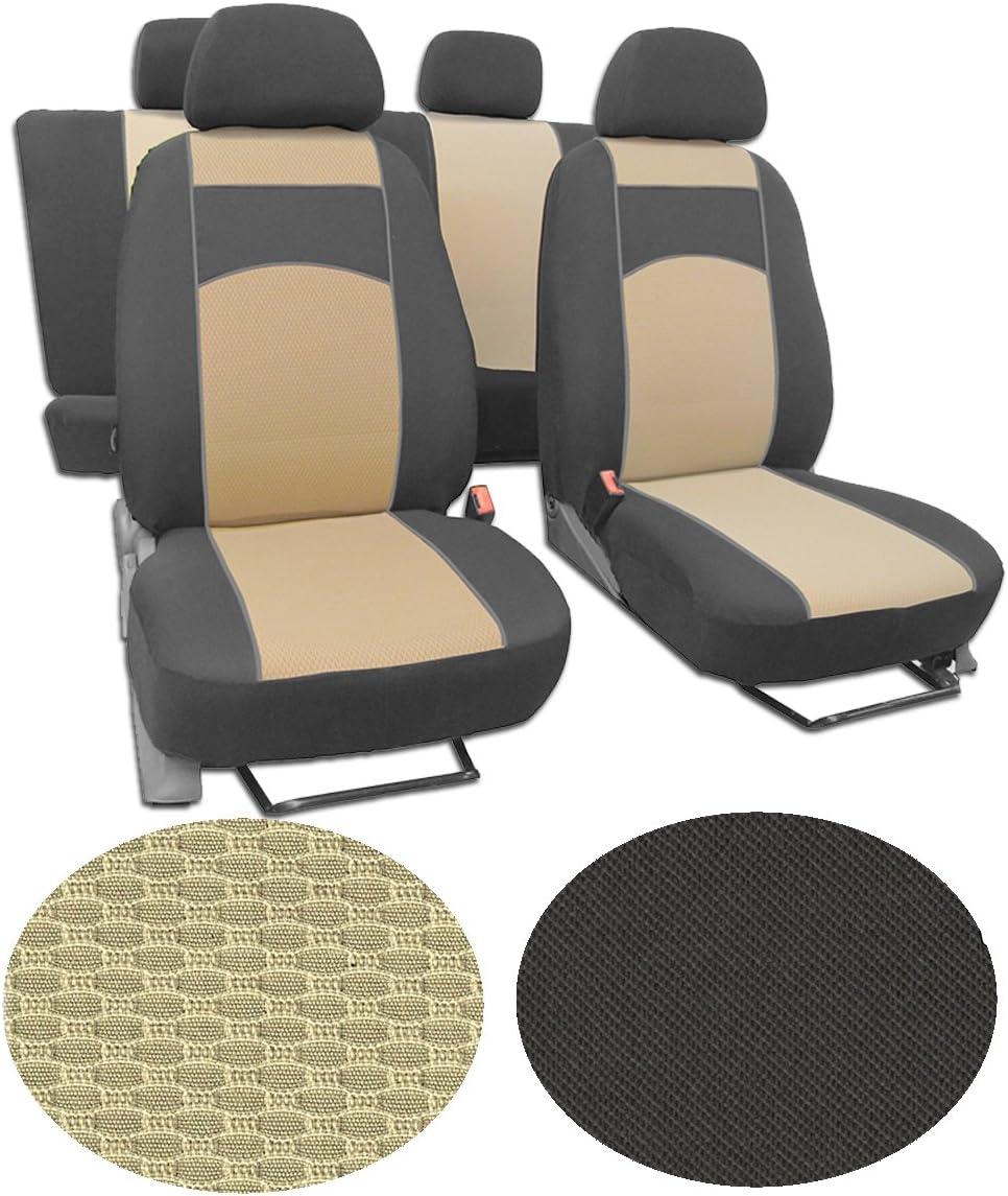 Autositzbezüge für Ford Tourneo Custom VII 13-8-Sitze Blau Schonbezüge Bezug
