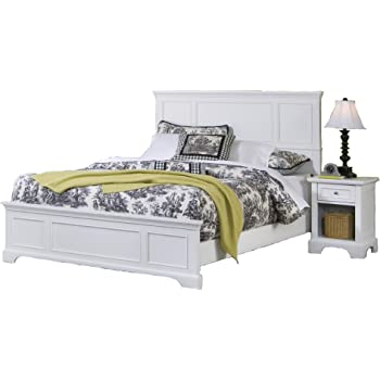 Amazon.com - Home Styles 5530-6013 Naples Bed Frame and Night Stand ...