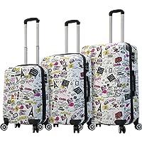 Mia Viaggi Italy Hardside Luggage 3 Piece (20