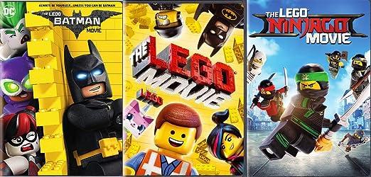 Amazon Com All Of The Lego Verse Combined The Lego Movie Dvd The Lego Batman Movie The Lego Ninjago Movie 3 Film Ultimate Builders Bundle Chris Pratt Will Arnett Movies Tv