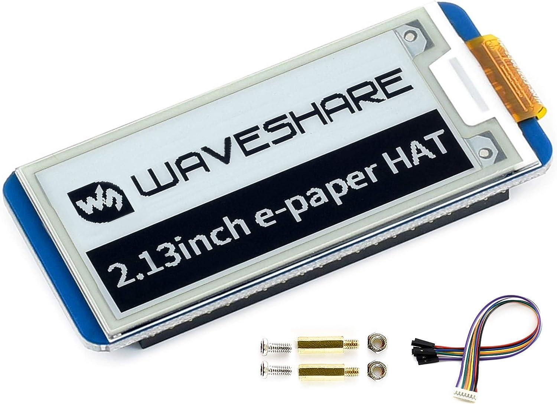Pantalla electrónica 2.13 pulgHAT Rev2.1 250x122pixel Raspbe