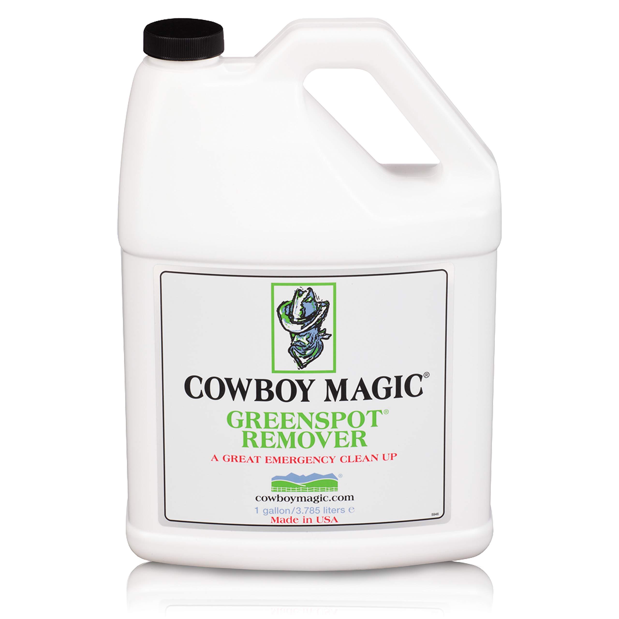 Cowboy Magic Greenspot Remover A Shower in A Bottle Refill Gallon