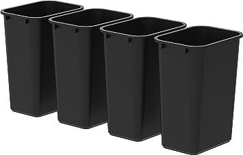 Storex grande poubelle cm noir stx u c